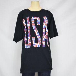 The-Go-To-Tee Adidas | USA Nations Black Tshirt XL